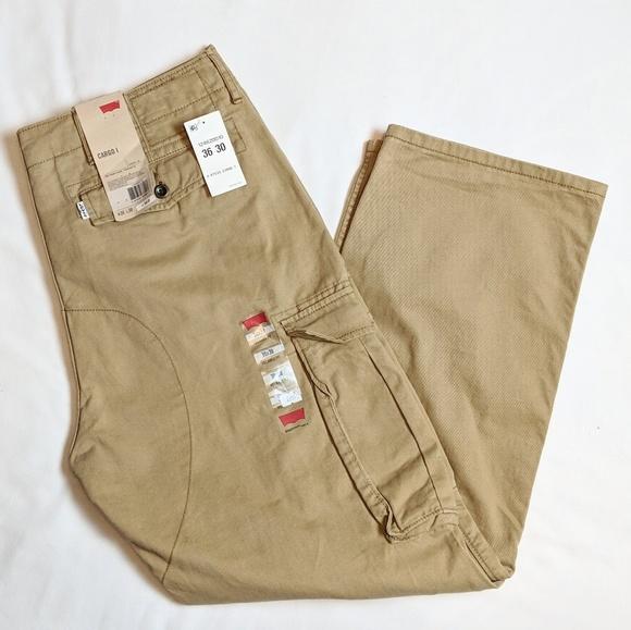 9c40ccdf Levi's Pants | Mens Levis Cargo Heavy Duty Work 36x30 | Poshmark